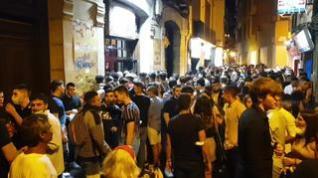 Bares y pubs con aforo completo el primer viernes con el ocio nocturno abierto hasta las 4.00