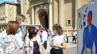 'Goya en Cubos': El arte toma la plaza del Pilar