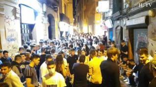 La ampliación de horarios saca a cientos de jóvenes a las zonas de bares