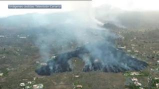 Se espera que la colada de lava llegue a la costa a las 20:00