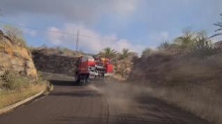 Los equipos de la UME en la erupción volcánica de La Palma