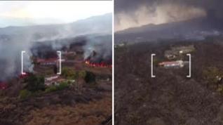 Símbolos de resistencia: las casas que, incomprensiblemente, se salvan de las coladas de lava