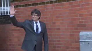 Puigdemont, detenido en Cerdeña por la euroorden del Tribunal Supremo