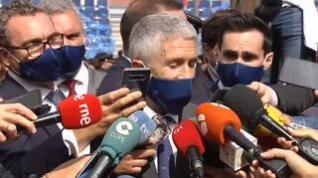 """Marlaska confirma que """"no había ninguna autoridad española"""" durante la detención de Puigdemont"""