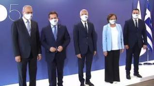 Marlaska recibe en Málaga a los países del MED5 para hablar sobre inmigración