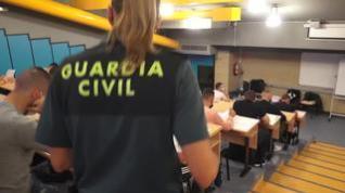 Cerca de 27.000 personas opositan a una de las 2.091 plazas para ser guardia civil