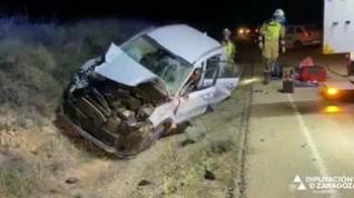 Accidente entre Chiprana y Escatrón