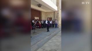 Alberuela de Tubo celebra con una jota de Javier Badules la sentencia de la ermita