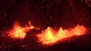 El Kilauea emite toneladas de lava en su nueva erupción