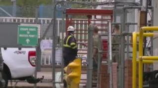 El Ejército distribuye gasolina en el Reino Unido