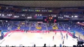 El Barça-Casademont se detiene para aplaudir a Pau Gasol