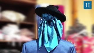 Así hay que anudar un pañuelo para que el traje de baturro quede perfecto