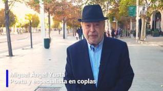Una copla para el día 11 de octubre del poeta y escritor Miguel Ángel Yusta