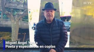 Una copla para el día 14 de octubre del poeta y escritor Miguel Ángel Yusta