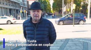 Una copla para el día 15 de octubre del poeta y escritor Miguel Ángel Yusta