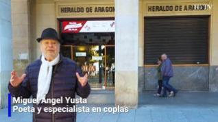 Una copla para el día 17 de octubre del poeta y escritor Miguel Ángel Yusta