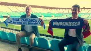 Alcaldes de Zaragoza y Huesca se reúnen en La Romareda