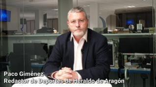 El Real Zaragoza empata por sexta vez consecutiva (1-1)