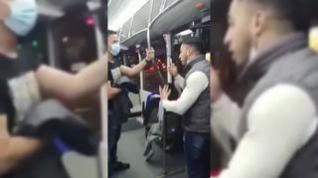 Agresión a un policía en el tranvía de Zaragoza