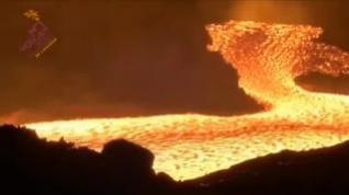 Las coladas reducen velocidad tras un mes de erupción