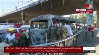 Catorce militares sirios muertos en un atentado en Damasco