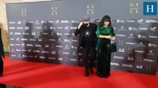 El grupo Amaral en la alfombra roja de la Gala de HERALDO