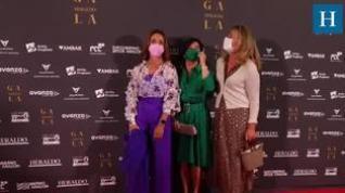 Alfombra roja de la Gala 'Aragón, mucho que decir' (VI)