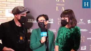 Entrevista con Amaral en la Gala 'Aragón, mucho que decir'