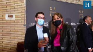 Entrevista con Sira Repollés en la Gala 'Aragón, mucho que decir'