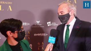 Entrevista con Jorge Azcón en la Gala 'Aragón, mucho que decir'