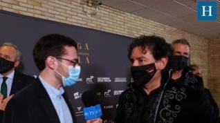 Entrevista con B Vocal  en la Gala 'Aragón, mucho que decir'
