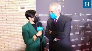 Entrevista con Javier Sada en la Gala 'Aragón, mucho que decir'