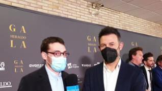Entrevista con Iñaki Urrutia en la Gala 'Aragón, mucho que decir'