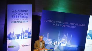 Marlaska apuesta en Zaragoza por aumentar la movilidad activa para tener ciudades saludables y seguras