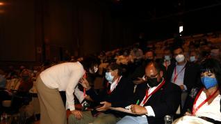 Bronco recuento de votos en el Congreso del PAR