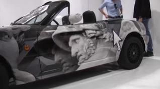 Así ha quedado el primer coche tatuado del mundo