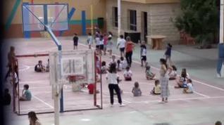 Primer recreo sin mascarilla en los colegios de la Comunidad de Madrid