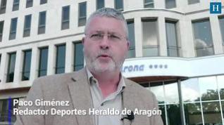 La última hora del Real Zaragoza con Paco Giménez