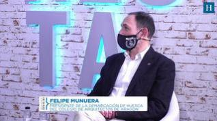 El presidente de la Demarcación de Huesca del COAA, Felipe Munuera, reflexiona sobre Canfranc