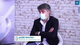 El gerente de Canfranc UTE, Jaime Molina, hace una reflexión sobre el resurgir de Canfranc