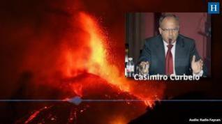 El presidente del Cabildo de La Gomera plantea bombardear el volcán de La Palma para redirigir la lava