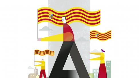 Ilustración del Día de San Jorge de 2021.