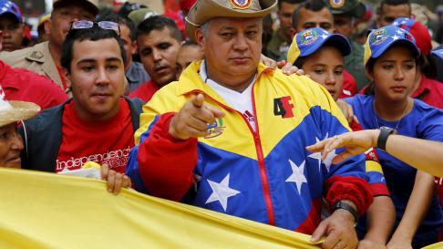 El presidente del Parlamento venezolano, Diosdado Cabello.