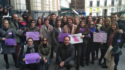 Huelga feminista del 8M en Aragón