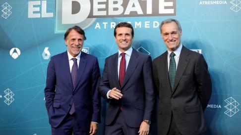 Llegada de los candidatos que participan en el debate a cuatro de Atresmedia