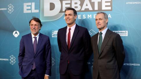 Llegada de los candidatos al debate electoral de Atresmedia