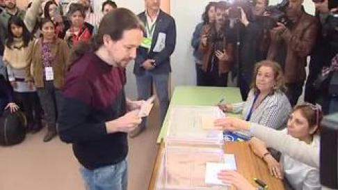 Es la primera vez que vota en su nuevo lugar de residencia