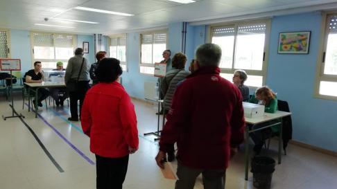 Jornada electoral en Calatayud