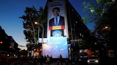 La sede del Partido Popular en Madrid.