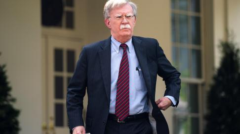 John Bolton, el asesor de seguridad nacional de la Casa Blanca